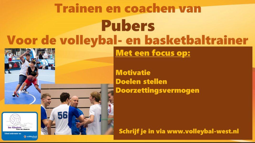 Trainen en coachen van pubers